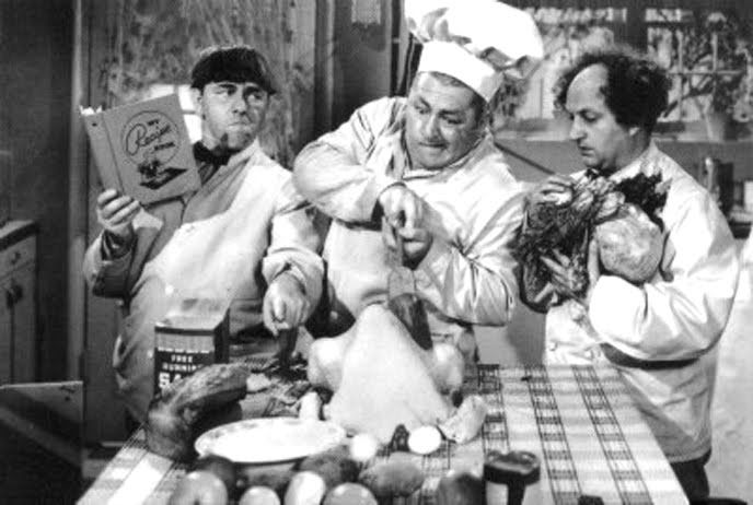 Image result for image three stooges thanksgiving