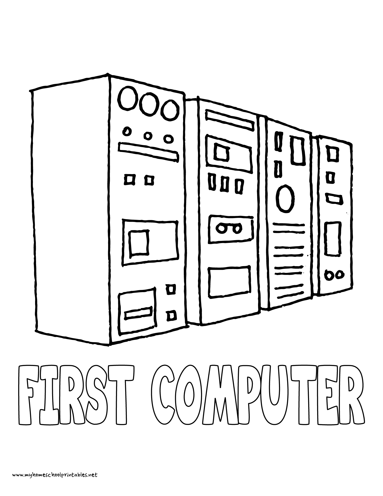 World history coloring pages printables first computer super