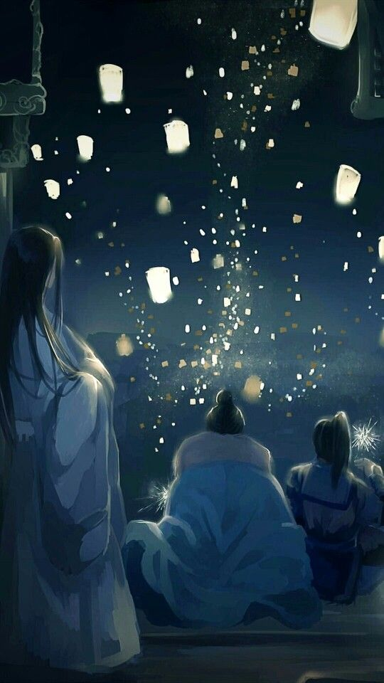 Watching The Lanterns Fly Together