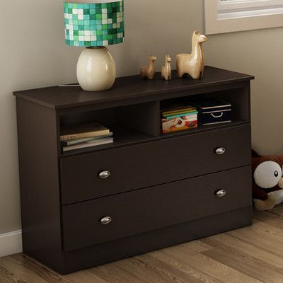 South Shore Tree House Media Chest Finish: Chocolate