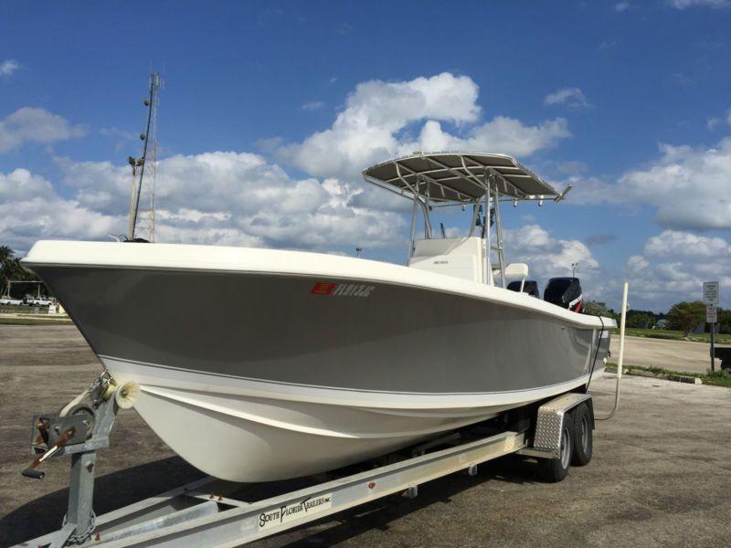 Contender 25 Open Center Console Model Boat Plans Boat