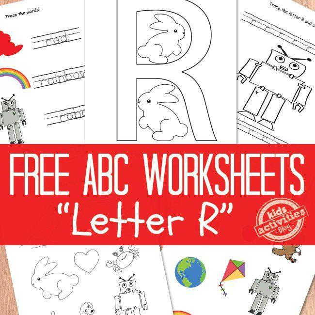 Letter R Worksheets Free Kids Printable Worksheets Student