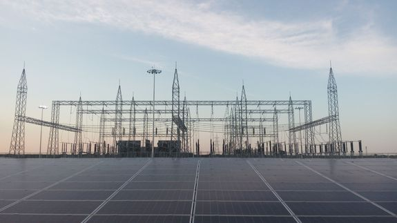 India Built The World S Largest Solar Plant In Just Eight Months Solar Solar Power Plant Renewable Energy