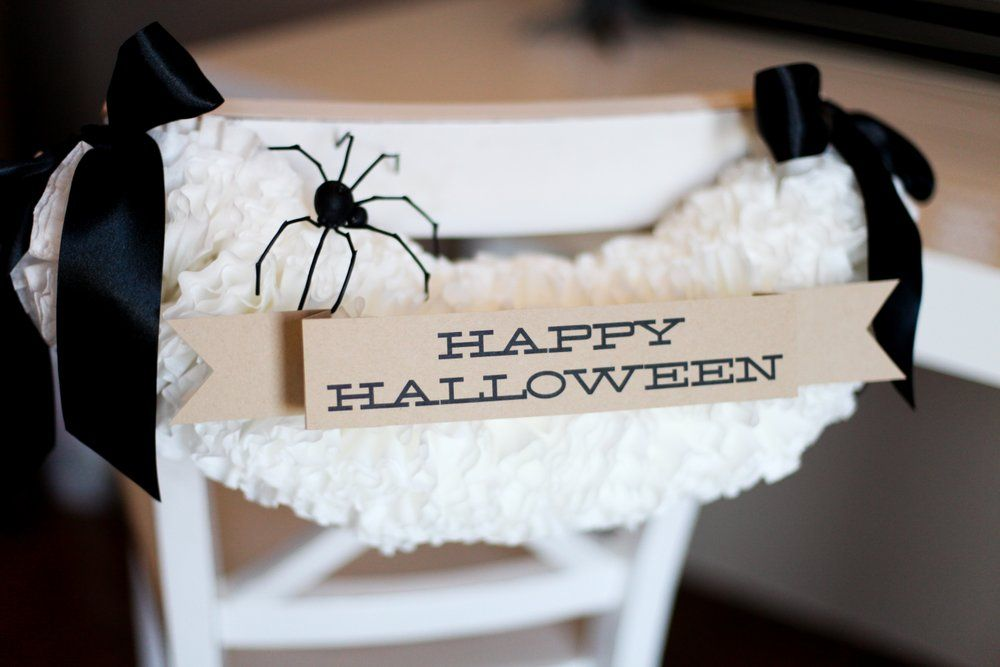 Black and White Halloween Decorating Ideas  DIY Network Feature