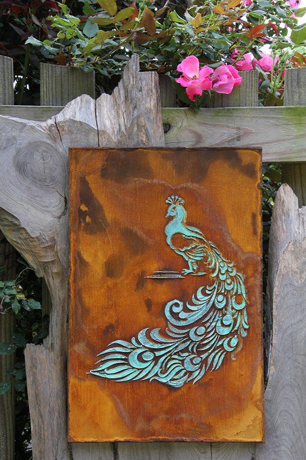 Metal Effects Patinas On Garden Art Modern Mastery