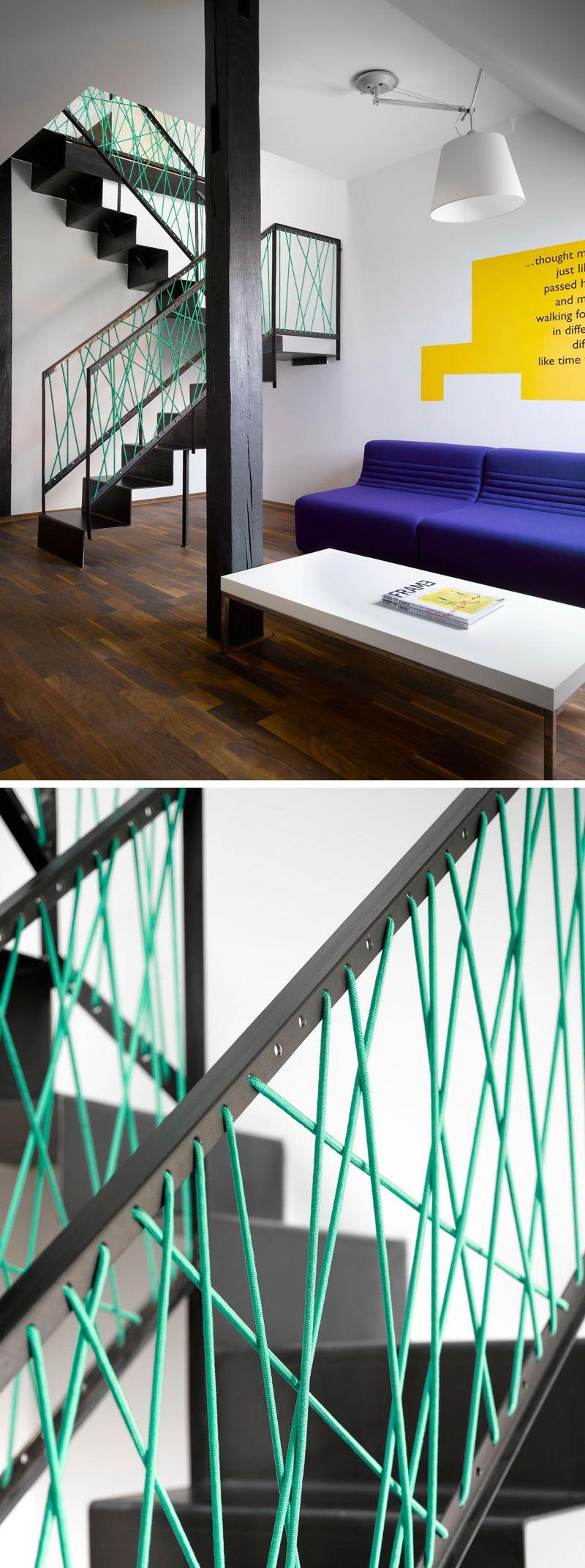 6 originales barandillas de cuerdas pensadas para - Escaleras de cuerda ...