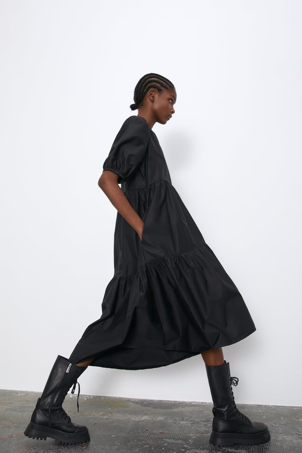 Asymmetric Poplin Dress Black Dresses Dresses Woman Zara Singapore Poplin Dress Dresses Womens Dresses [ 1536 x 1024 Pixel ]