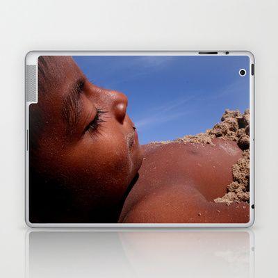 Wittos (Blue) Little Indian Sand Boy  Laptop & iPad Skin by David Hernández-Palmar - $25.00