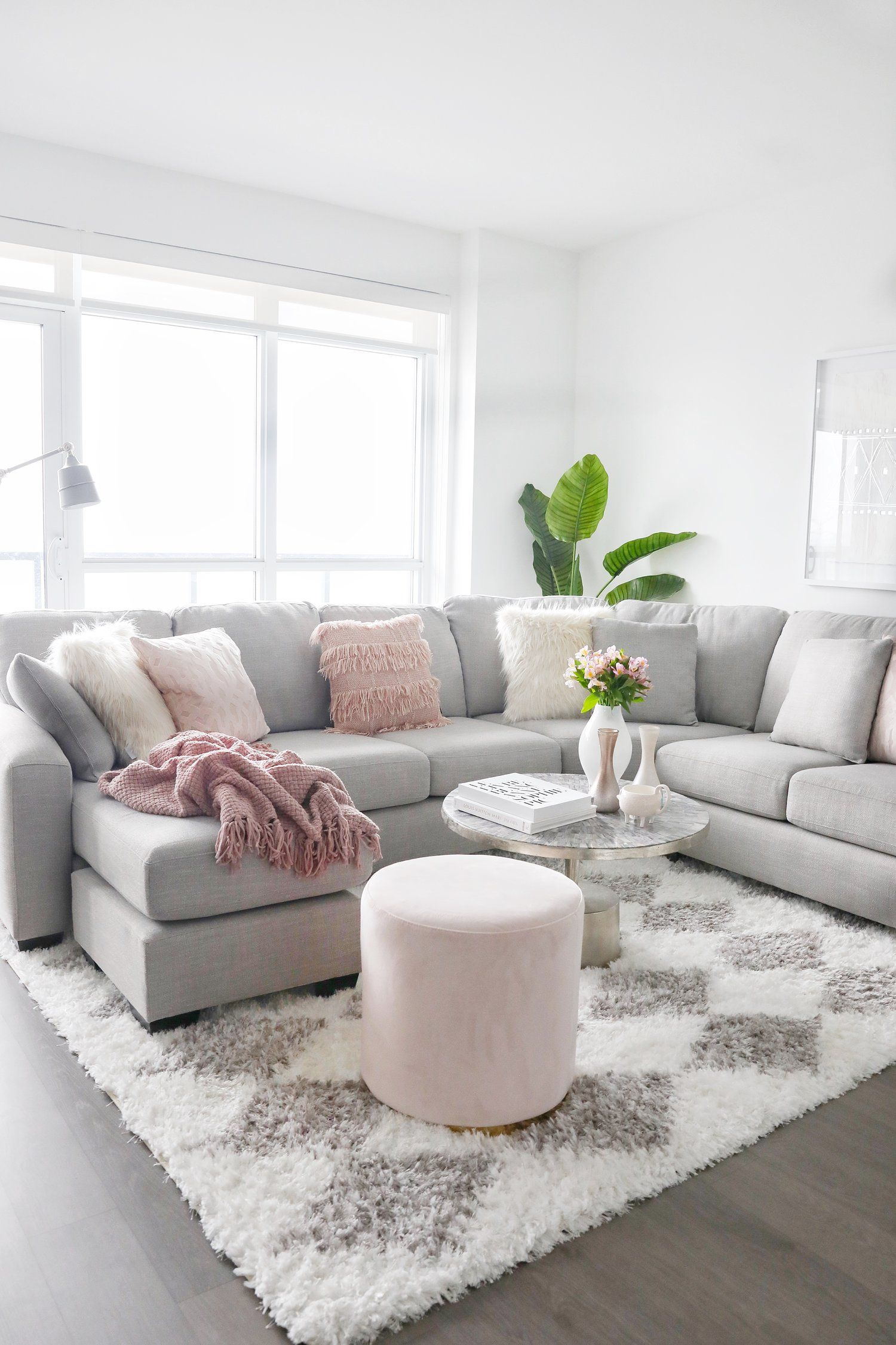 Townhouse Living Room Design: Simply Beautiful Townhouse And Condo Makeover