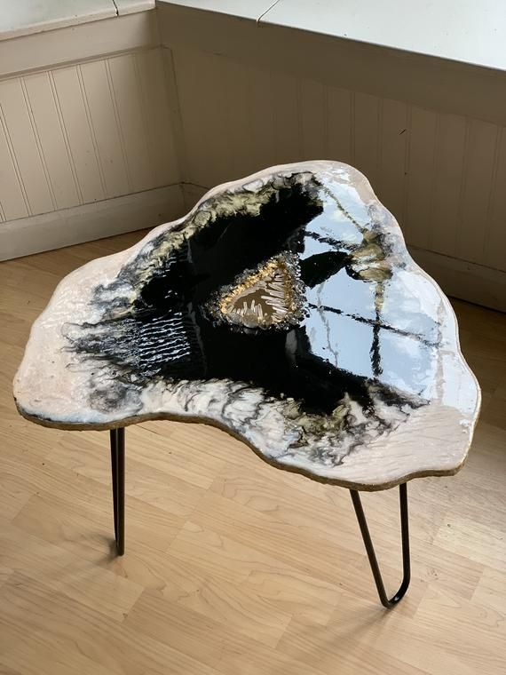custom coffee table boho chic furniture small table side table crystal table geode in 2020 on boho chic kitchen table decor id=50042
