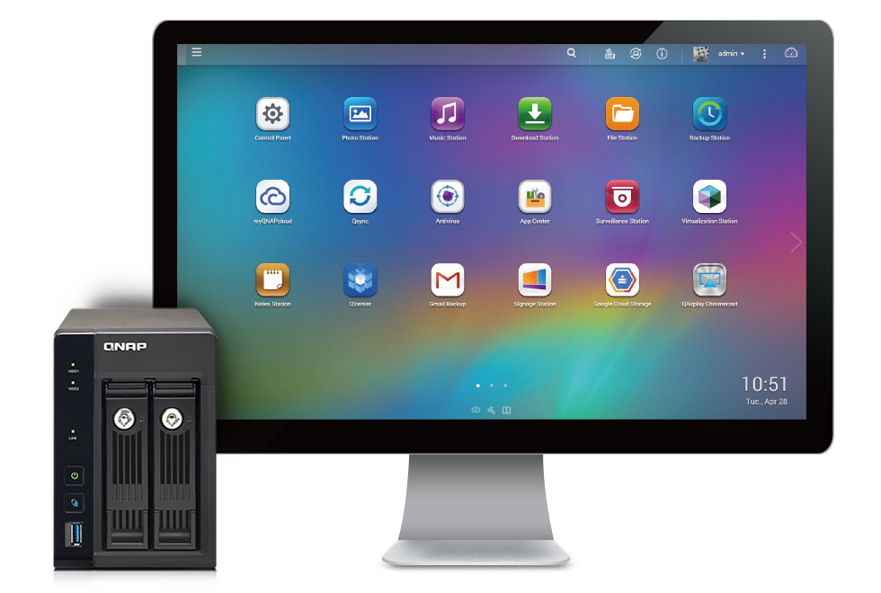 QNAP NAS is the perfect companion for Mac users  A QNAP NAS