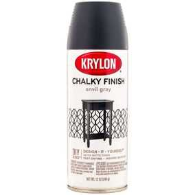 Anvil Gray Krylon Chalky Finish Spray Paint It is