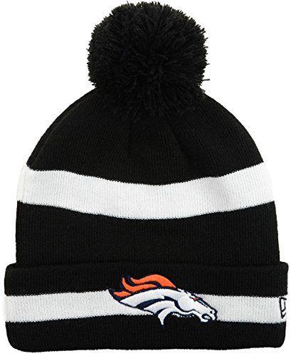 396306937723e5 Winter Hats · Amazon · Denver Broncos New Era Pom Knit Hat Beanie Cap NFL