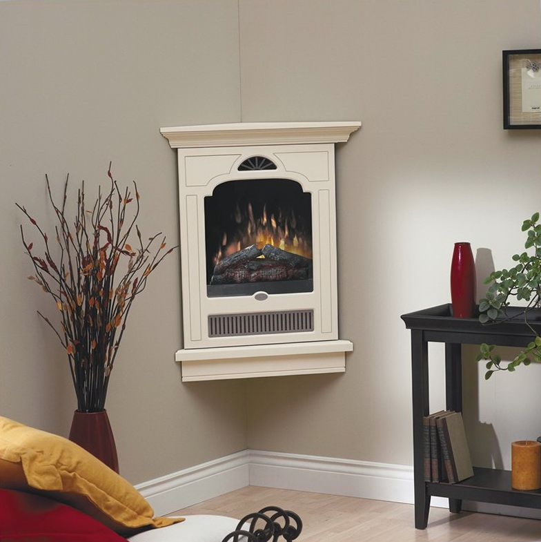 Electrical Home Design Ideas: Small Corner Gas Fireplaces