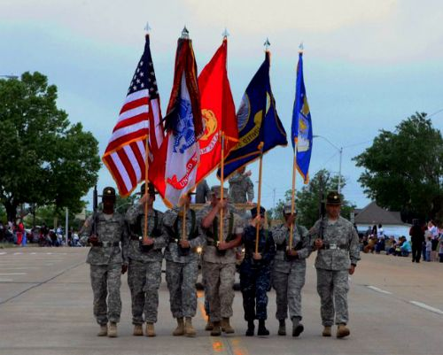 Another First The U S Army Will Supply A Color Guard For