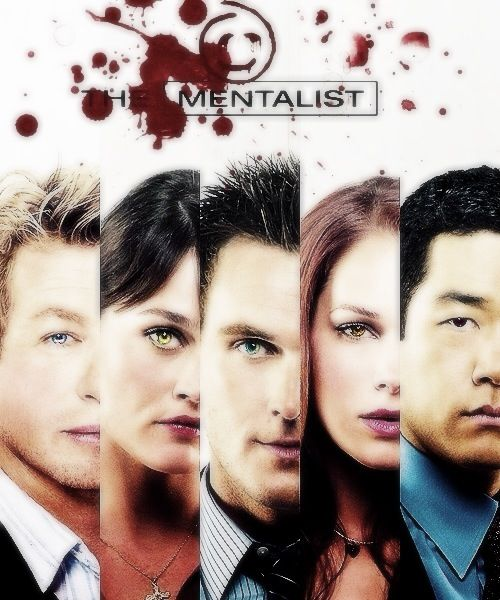 The Mentalist  Patrick, Teresa, Rigsby, Grace, and Cho