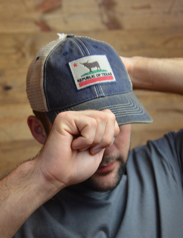 size 40 f2933 0e8a7 Nothin  says you have Texas pride like a Republic of Texas hat!