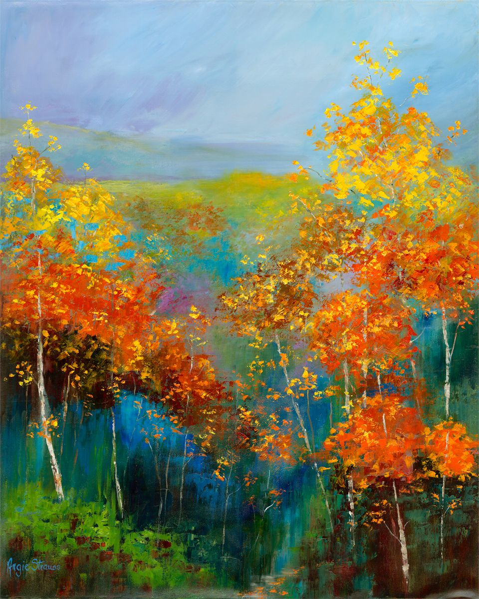 The Colours of Fall original oil