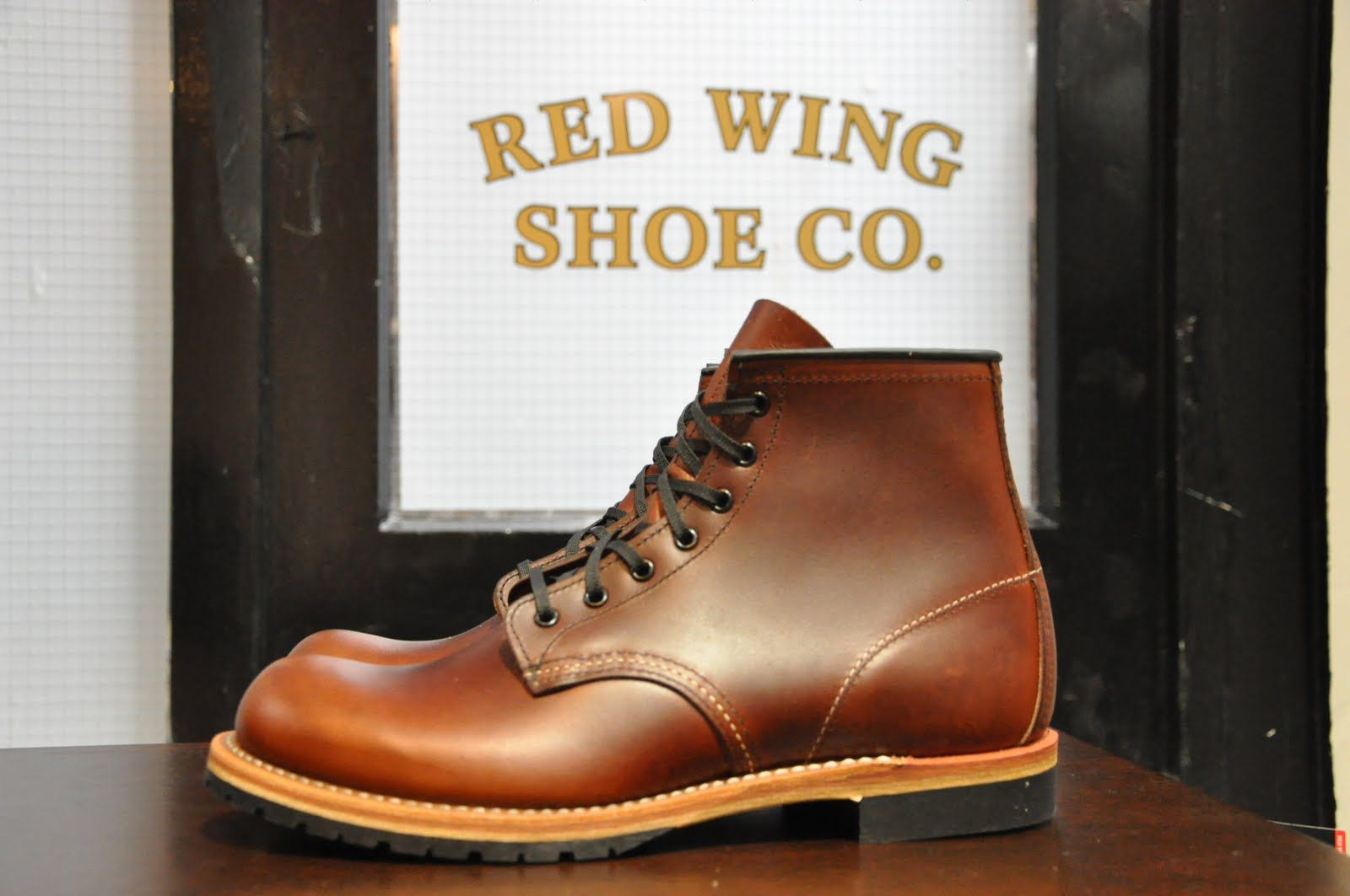 Dream Boot #1: Red Wing 9016 Beckman, Cigar Featherstone leather ...