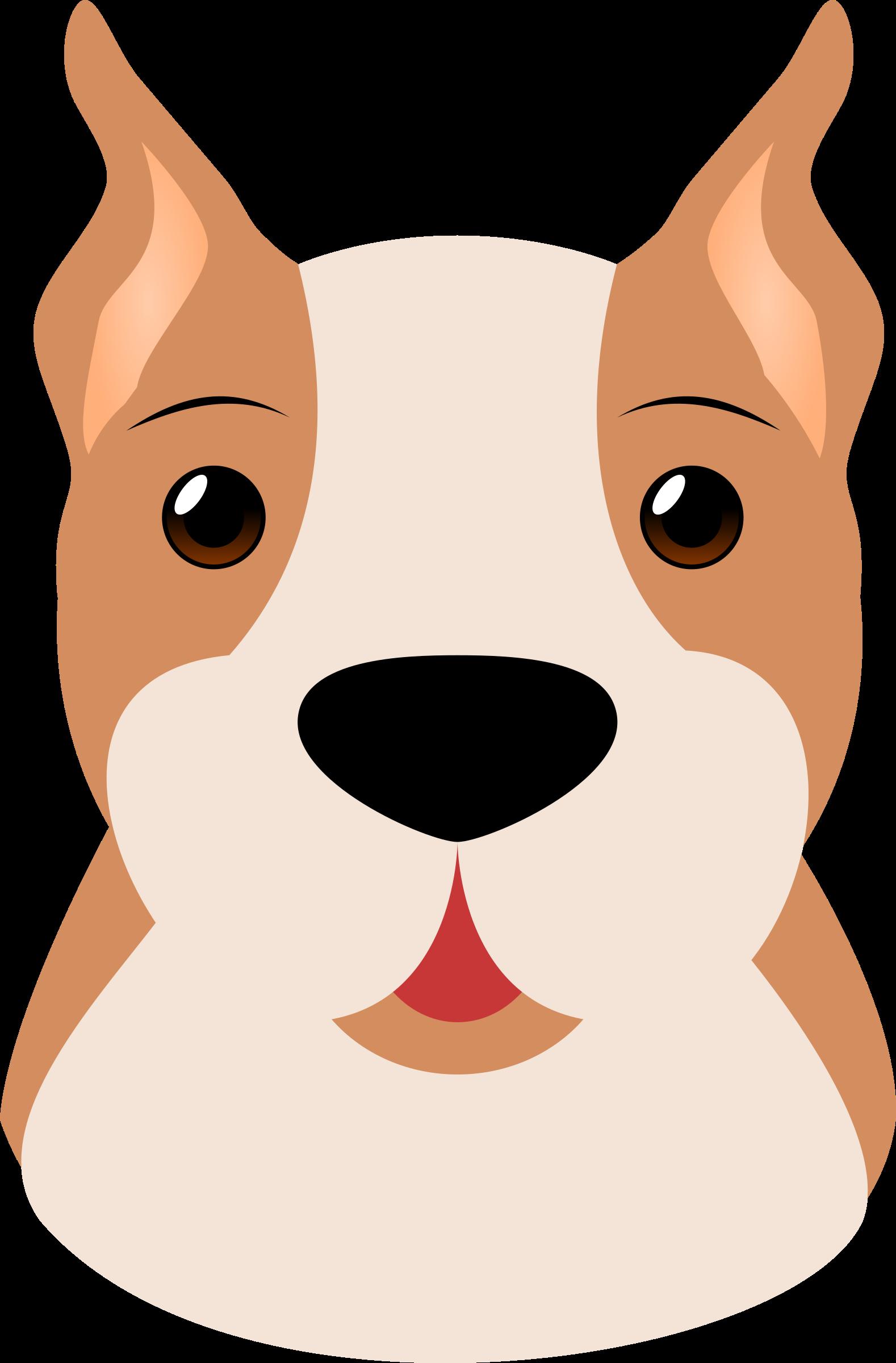 Boxer Dog Clip Art Dog Face Cute Puppy Videos