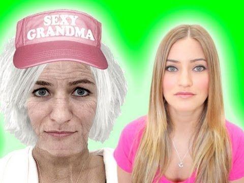 SEXY GRANDMA! | iJustine