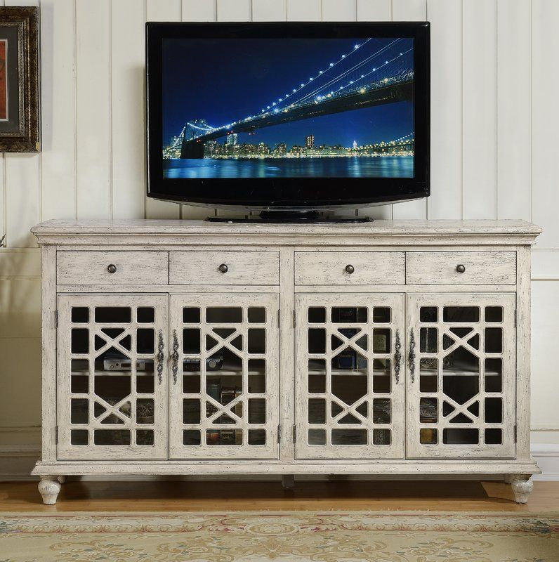 Mauldin Solid Wood TV Stand for TVs up to 78 inches