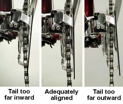 Front Derailleur Adjustment Park Tool Bicycle Mechanics Fronts