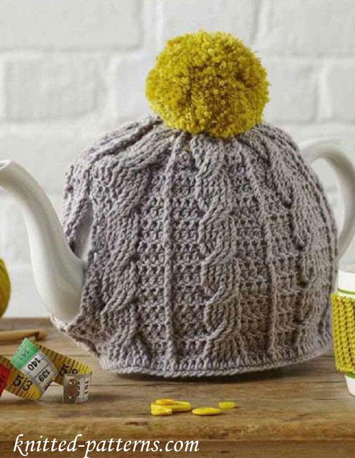 Cabled Tea Cosy | TEA COSIES | Pinterest | Teteras
