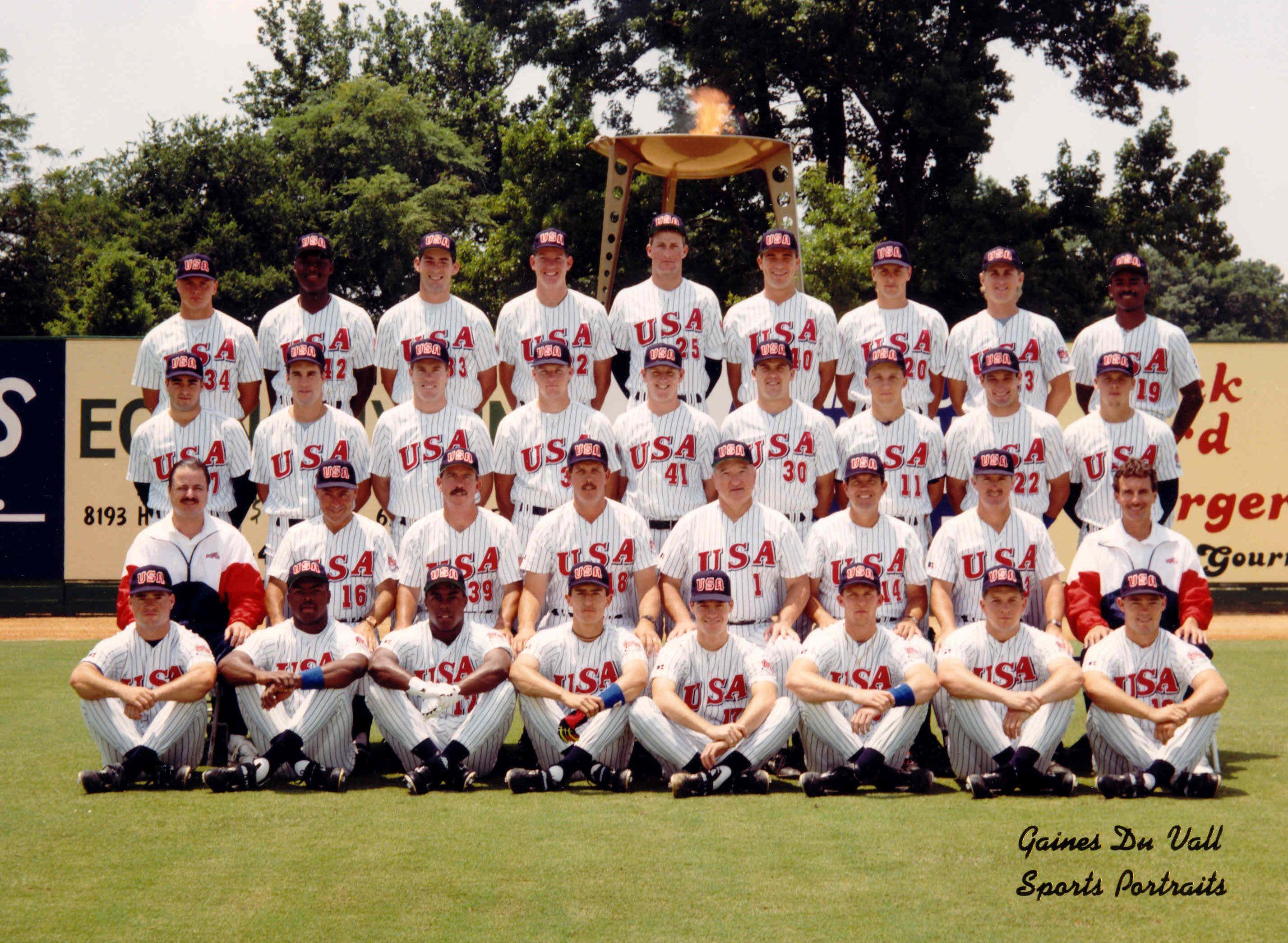 1992 USA Olympic Baseball team Olympic baseball, Usa