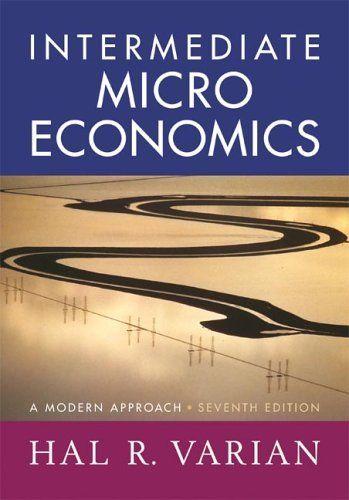 Intermediate Microeconomics A Modern Approach Seventh