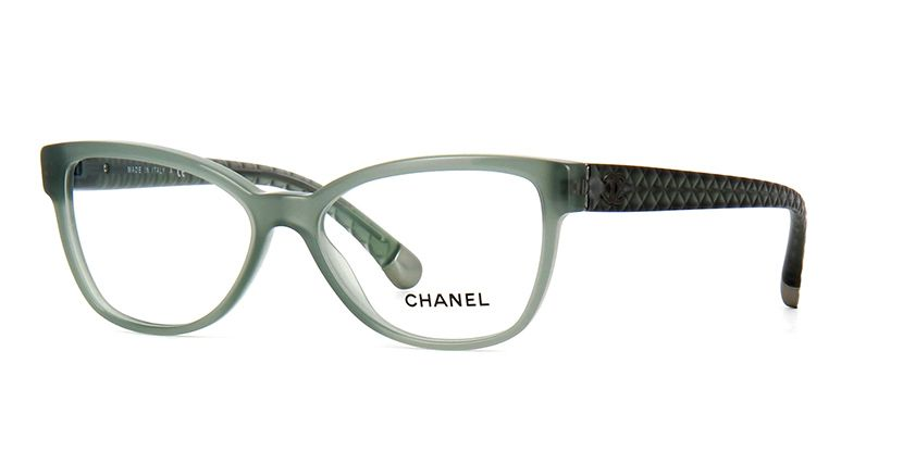 775f68bfb3c5 Chanel 3322 1531 Pale Green Opal Glasses