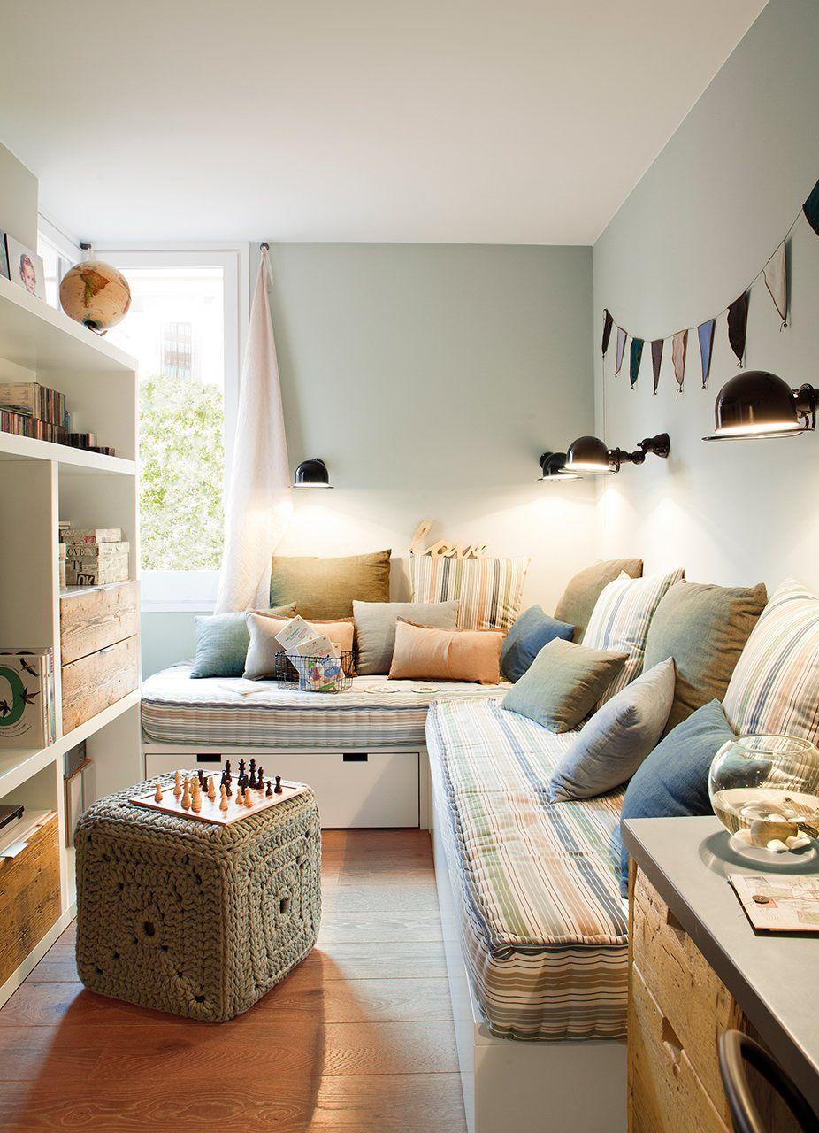 Y gracias a los colores se hizo la luz - Decoracion habitacion individual ...
