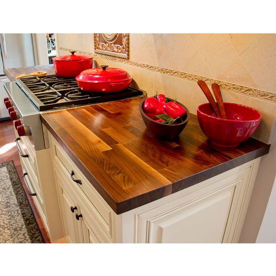 These John Boos Blended Kitchen Surface Counter Tops Are Made Of