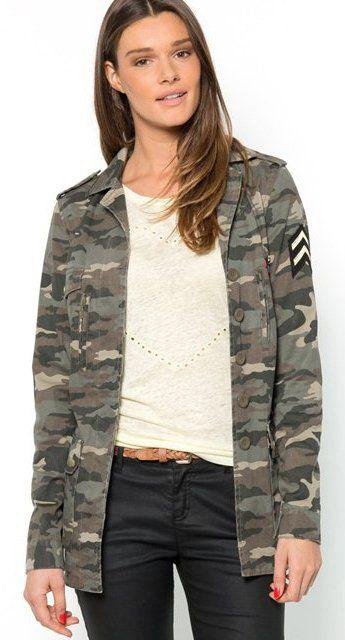 Wonderlijk leger jasjes dames - Google zoeken   kleding - Leger kleding CH-07