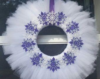 Autumn Tulle Wreath van TheDundeeSpot op Etsy