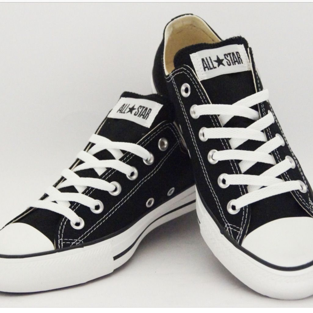 Chuck Taylor All Star Low Top Converse | Black converse