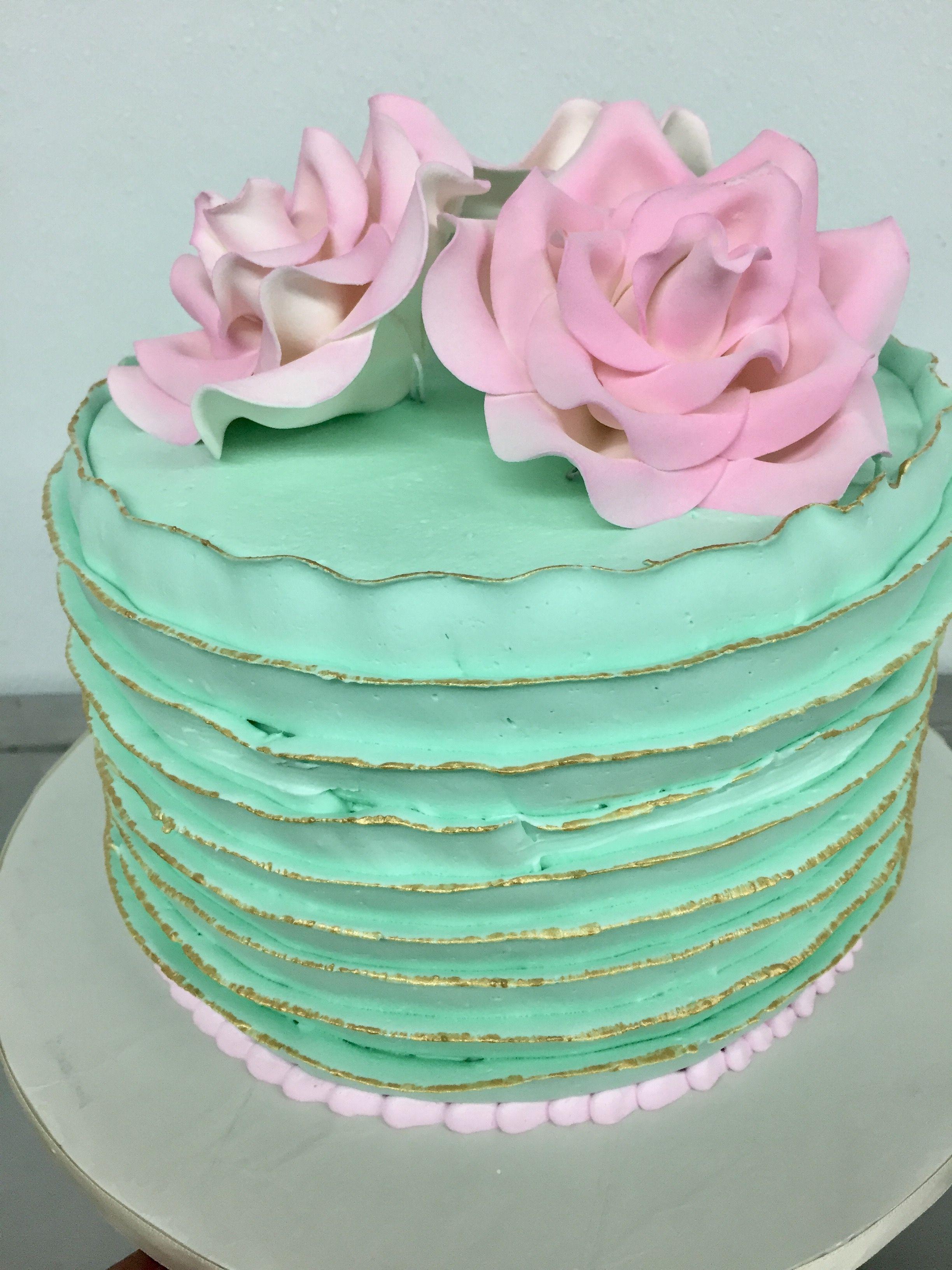 Marvelous Shabby Chic Birthday Cake With Images Graduation Cakes Cake Personalised Birthday Cards Vishlily Jamesorg