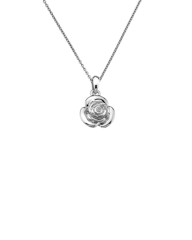 Lily & Lotty Rose Necklace & Earrings Set zSWE6Bo2