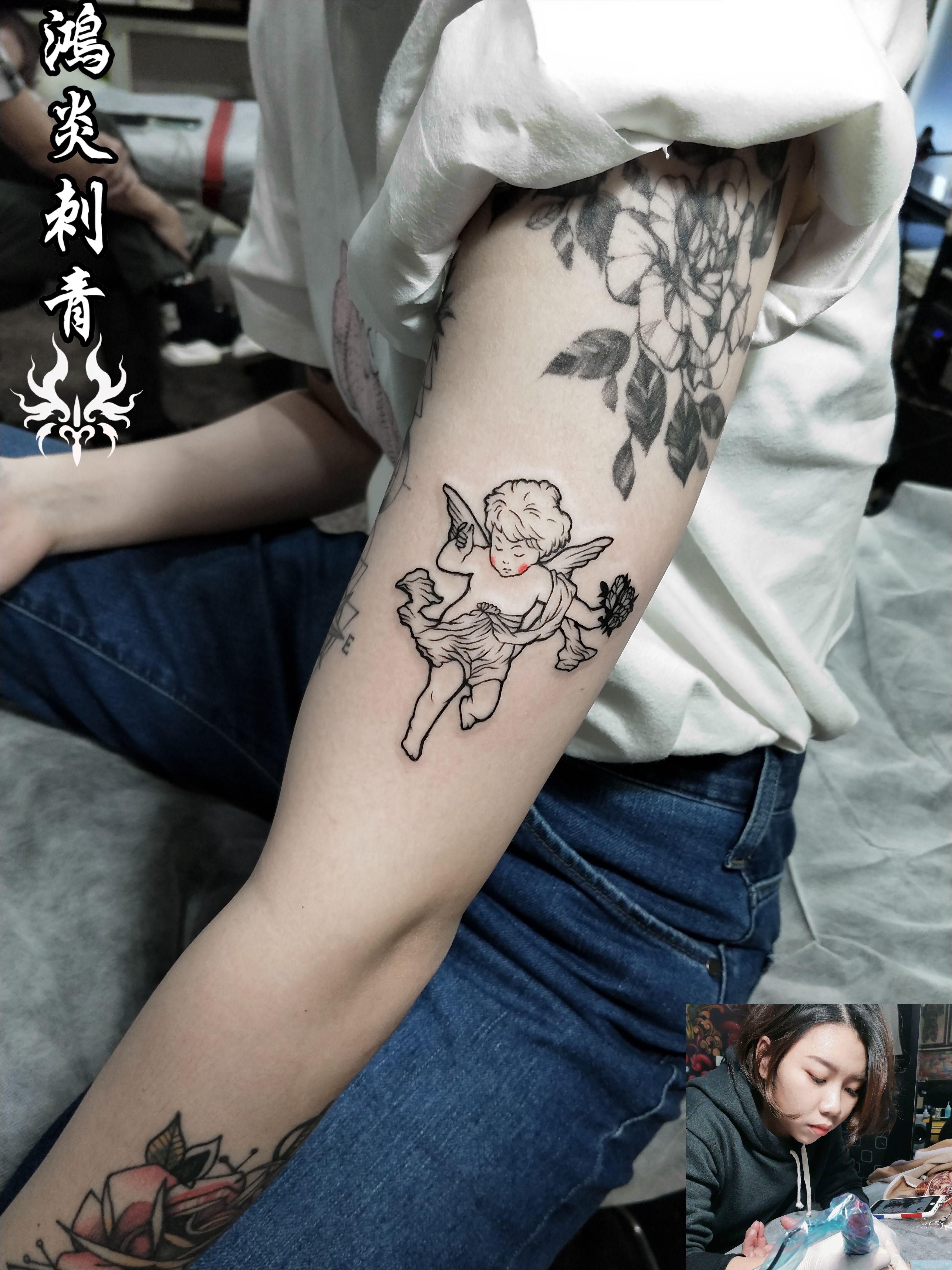 天時 紋身師阿芝作品 預約專線0970666879 (LINE) ses4527z (IG) tattoo