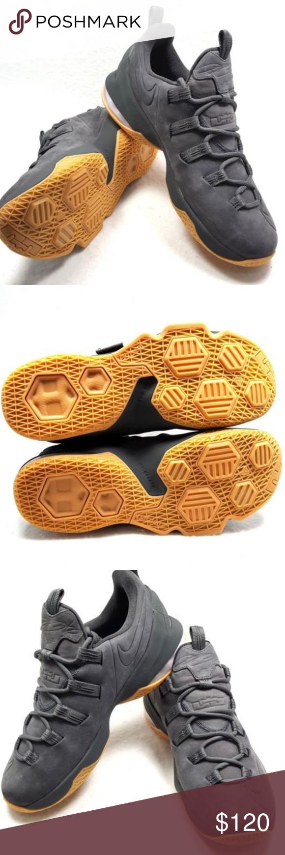 8c15a08fbd5b Nike Lebron XIII 13 Low PRM Premium Anthracite  Brand New