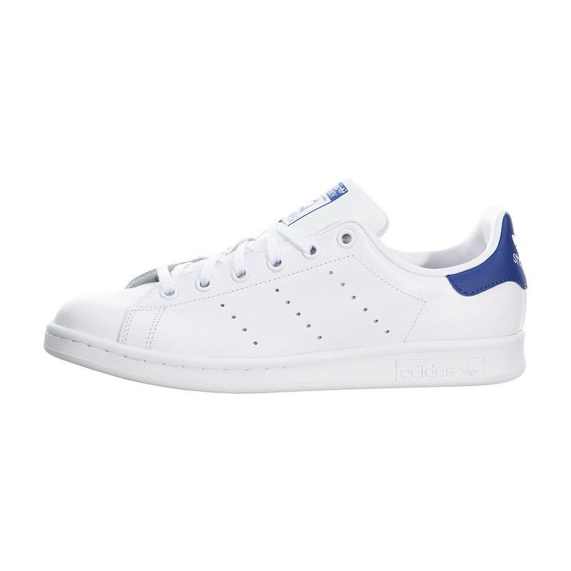 30c304144d88ac Adidas Originals Stan Smith S74778 Casual shoes White Blue Mens Womans  Sneakers
