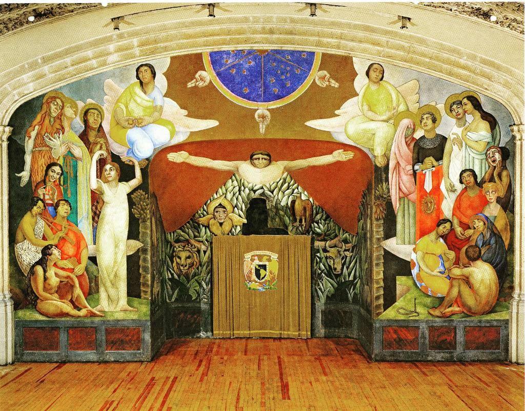 La Creacion Es El Nombre Del Primer Mural Que Pinto Diego Rivera