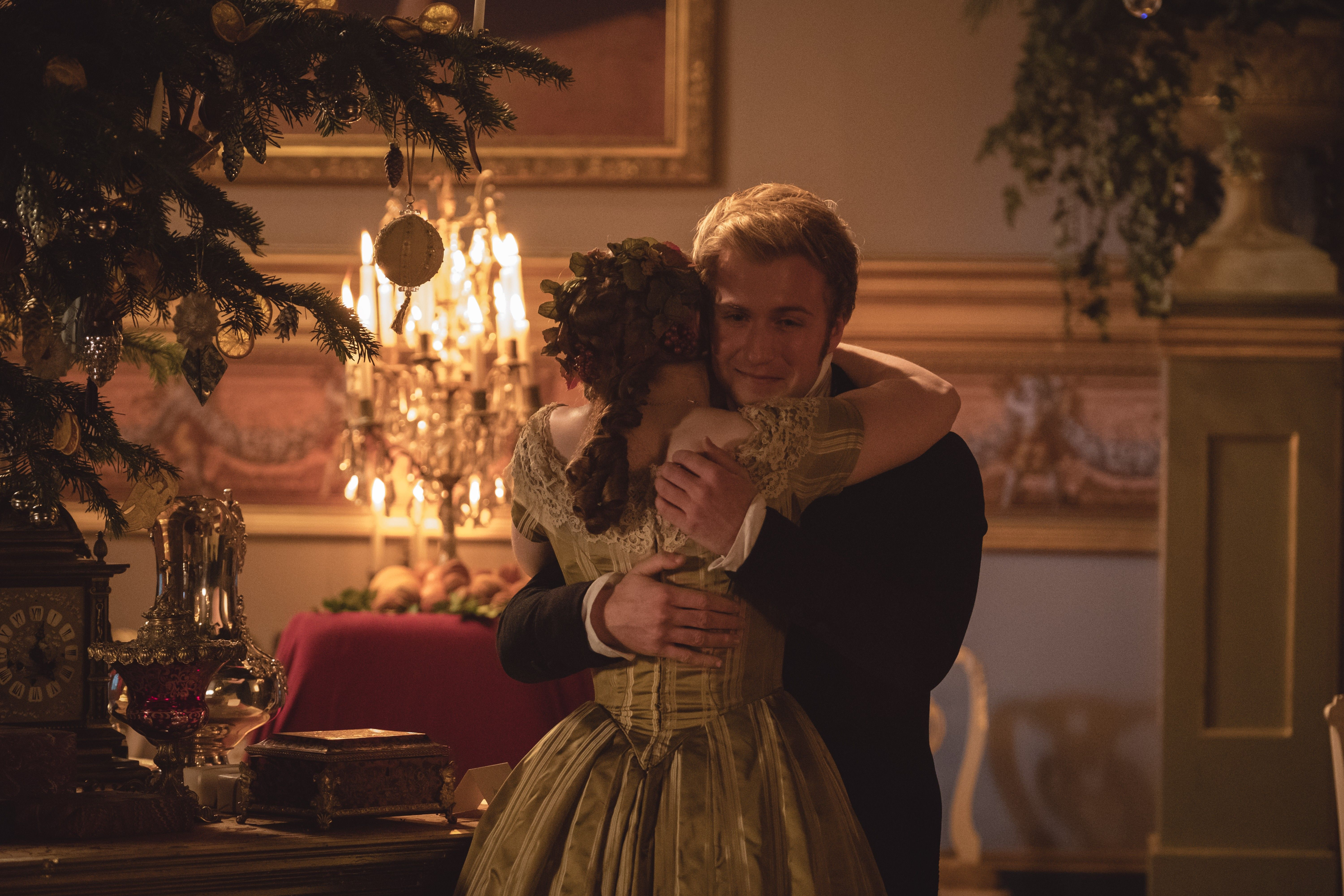 Victoria Christmas Special.Promotional Still From The Victoria 2017 Christmas Special