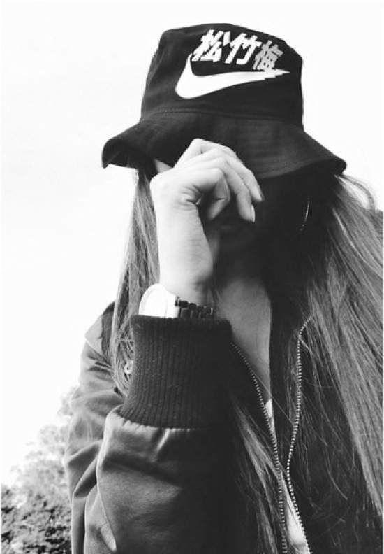 a48e5757b467 Swoosh Black Bucket Hat
