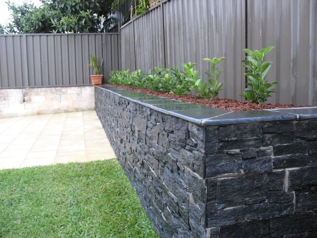 Image Result For Retaining Wall Designs Black House