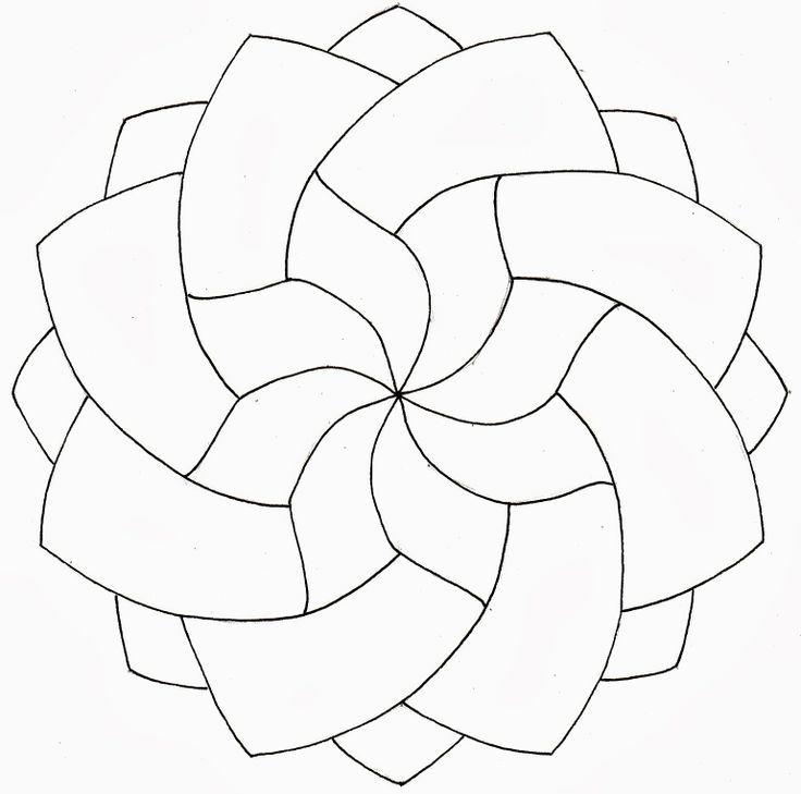 zentangle patterns step by step printable - Google Search | Mandala ...