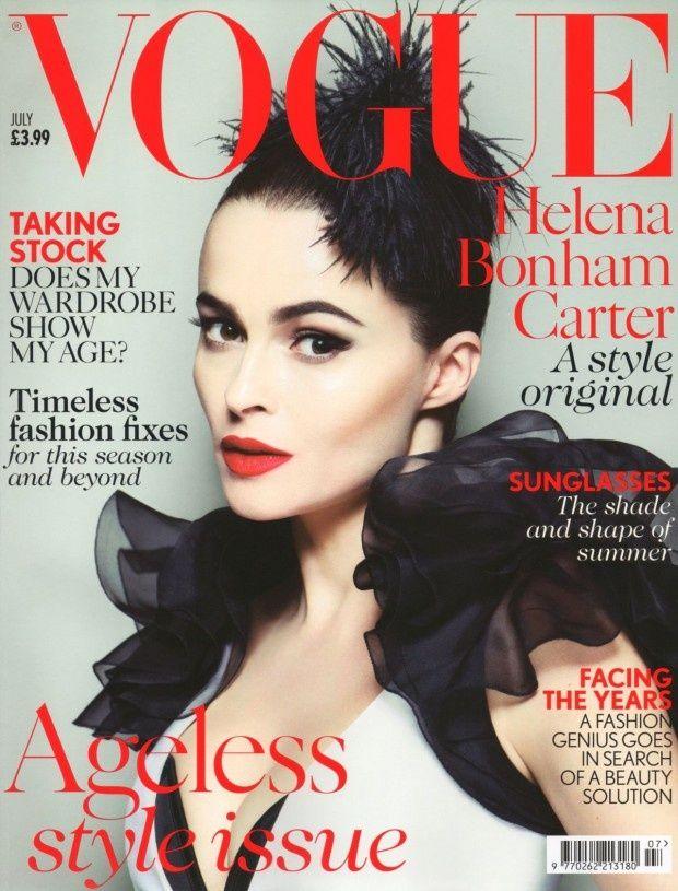 Vogue UK Julho 2013 | Helena Bonham Carter por Mert Alas e Marcus Piggott  Highlight Description Vogue UK Julho 2013 | Helena Bonham Carter por Mert Alas e Marcus Piggott
