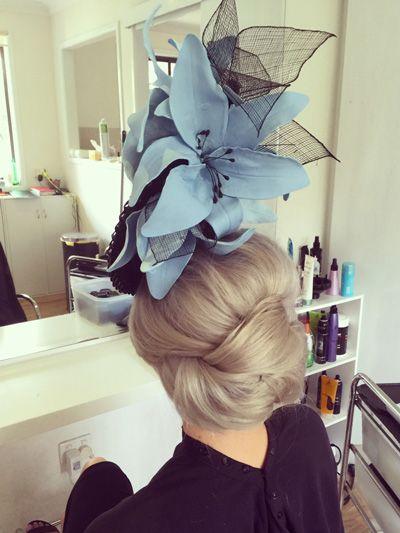 Races Hairstyles With Fascinators Hair Ideas For Race