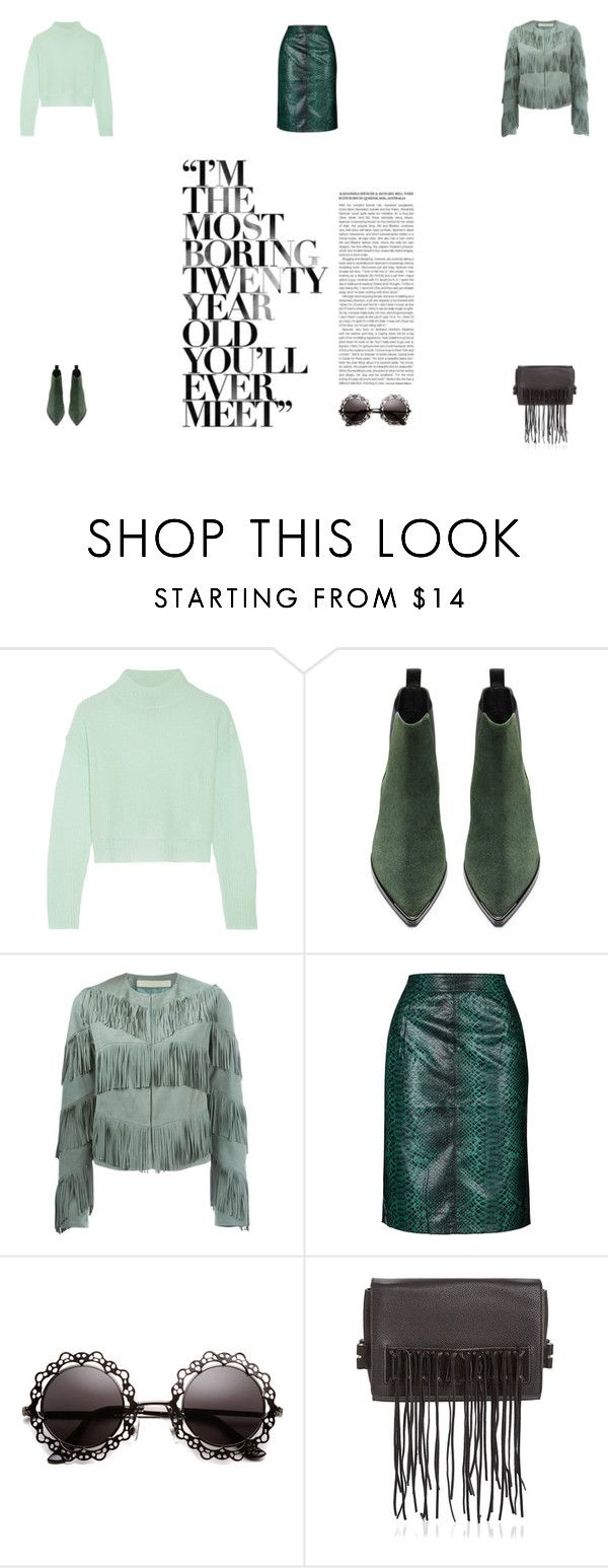 """""""I'm the most boring 20 year old"""" by jsnguyen1005 ❤ liked on Polyvore featuring Line, Acne Studios, Drome, Topshop, Rebecca Minkoff, women's clothing, women, female, woman and misses"""