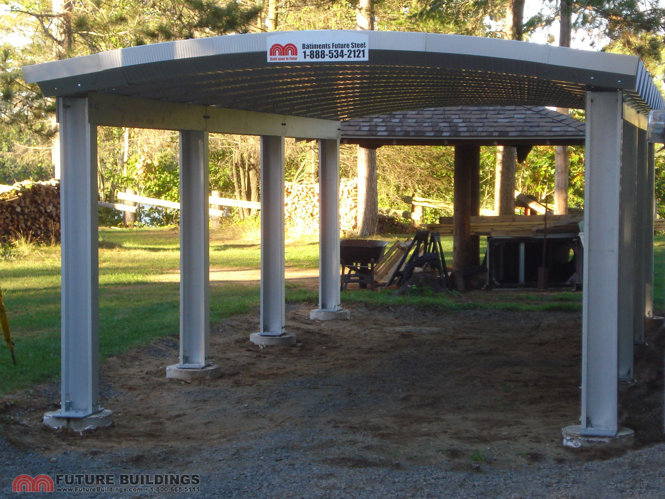 Metal Carport Kits & Steel Shelters by Future Buildings